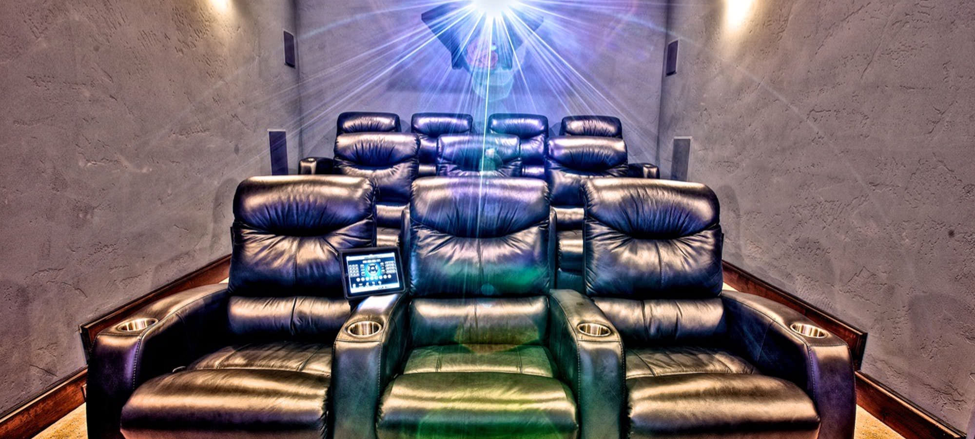 Make Your Home Theater Seem Like the Real Thing with Custom Home Theater Furniture