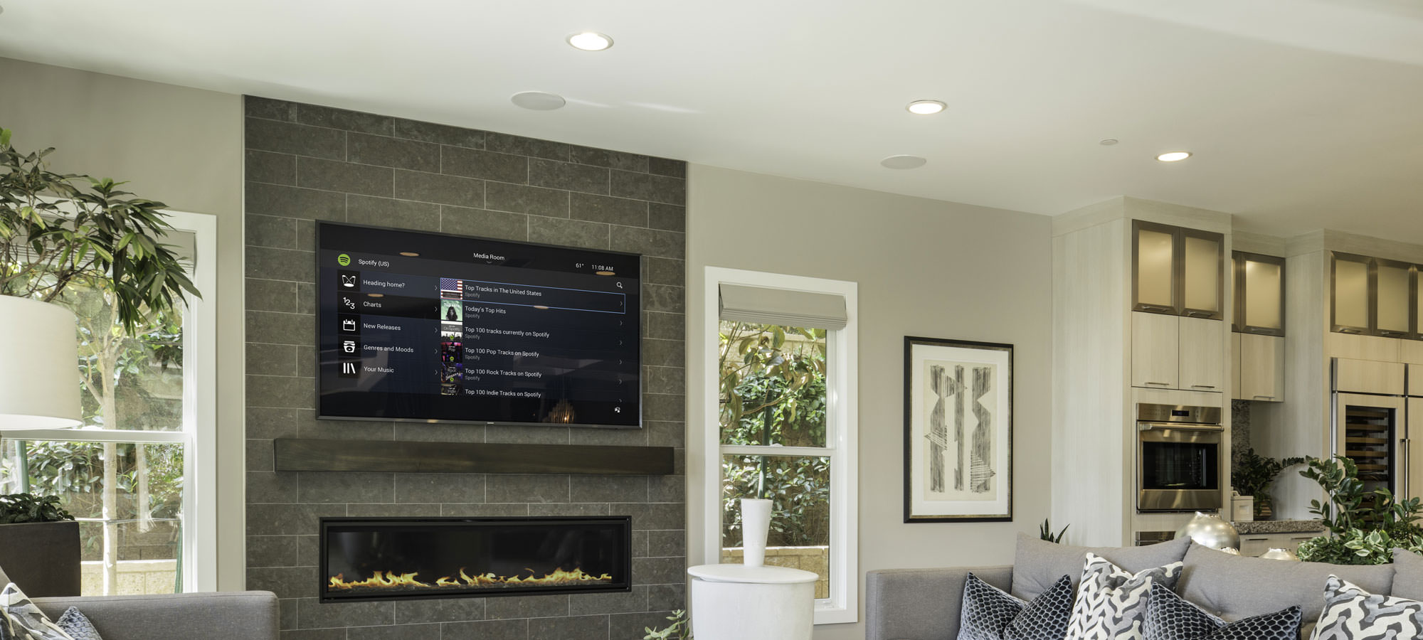 3 Features of Professionally-Installed Whole-Home Audio System