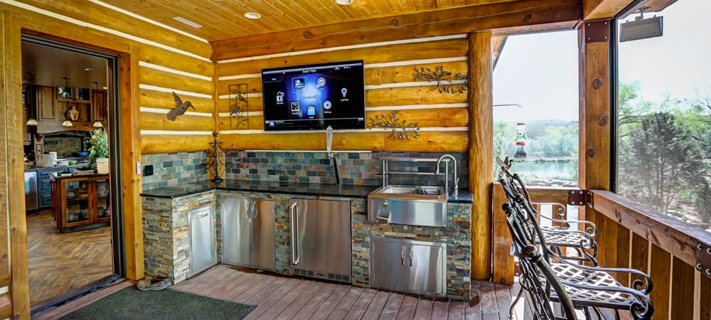 Relax in Your Backyard With Outdoor TVs and Speakers